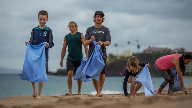 The Westin Maui Resort & Spa beach clean-up