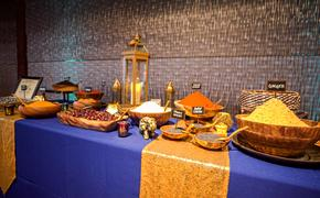 Spice market at Collette 2020 launch event in Brooklyn