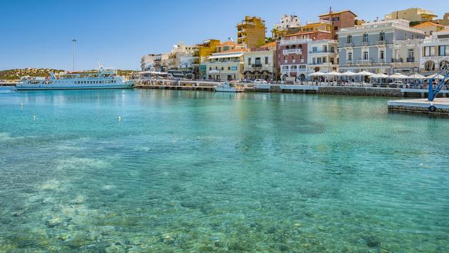 Agios Nikolaos on Crete