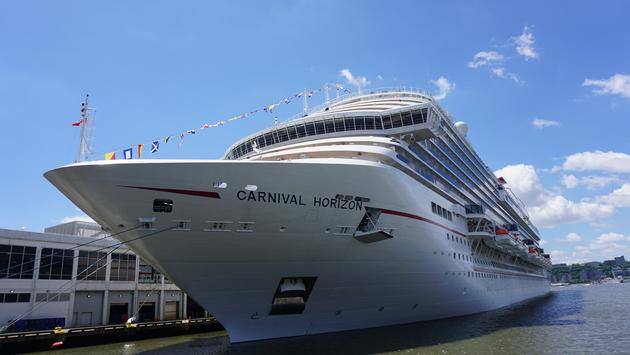 Carnival Horizon in New York.