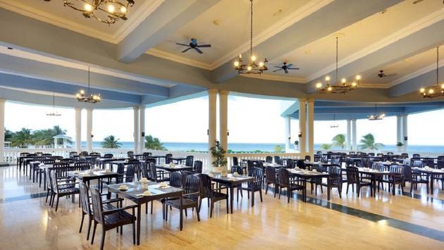 The Blue Lagoon restaurant at Grand Palladium Jamaica Resort & Spa