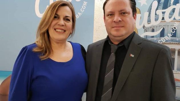 Carmen Casal et Lessner Gómez