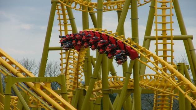 rollercoaster, Arkansas, Magic Springs, theme park