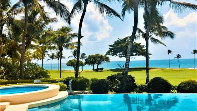 Golf course and ocean views in La Romana - dominican republic