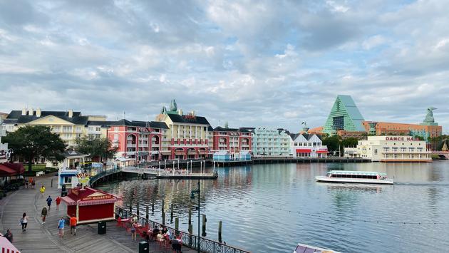 Disney's Boardwalk Resort and Walt Disney World Swan and Dolphin