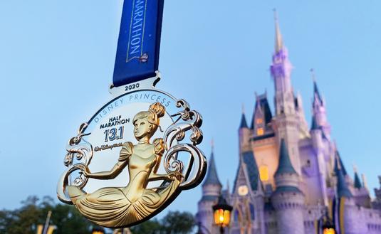 runDisney's Disney Princess 2020 Medal