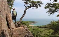 Beehive Loop, Acadia National park, hiking trail, Maine