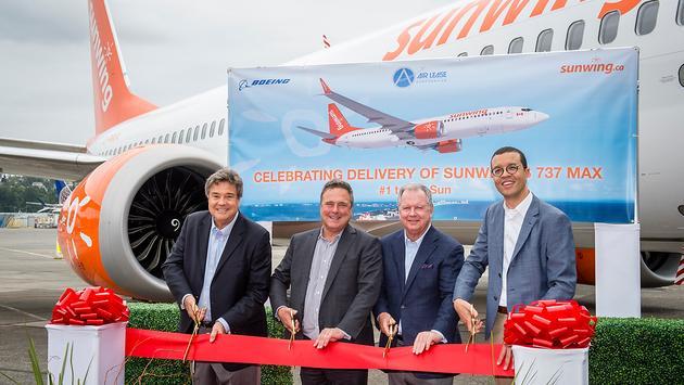 Sunwing's New Boeing 737 Max 8