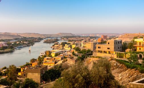 Aswan and Nile