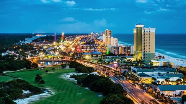 Panama City Beach, Florida.
