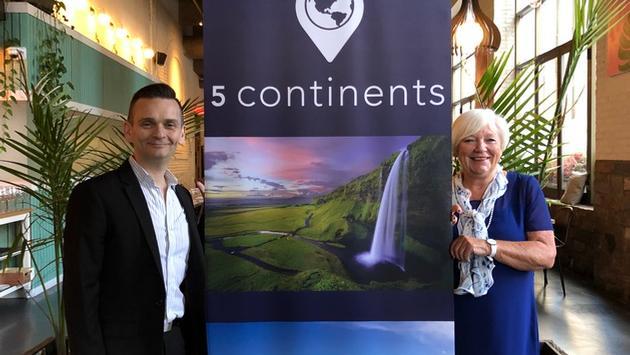 David Boigne et Michèle Rauzon de 5 Continents