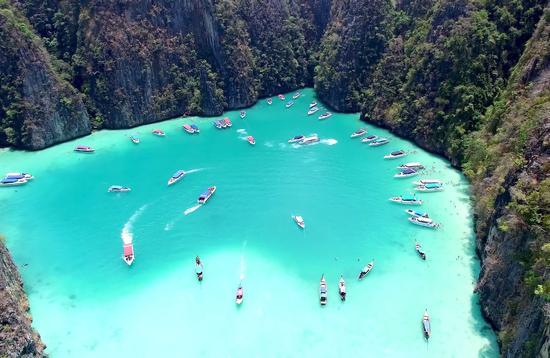Maya, Bay, Thailand