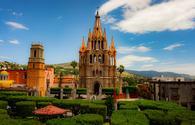 Parroquia de San Miguel Arcangel, San Miguel de Allende, Guanajuato, Mexico