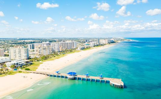 Pompano Boardwalk Pier, Fort Lauderdale
