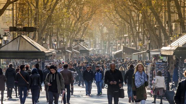 Ramblas street, Barcelona