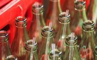 Coke Bottles with Straws