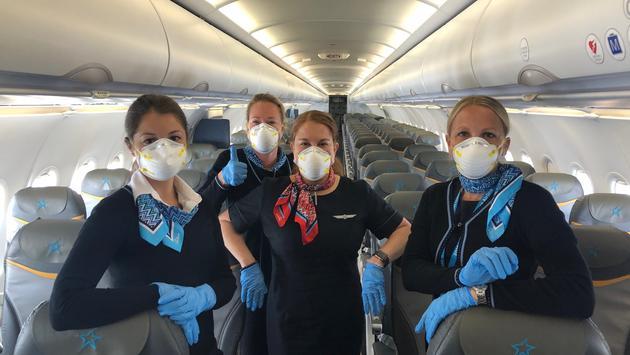 Dernier de vol de rapatriement d'Air Transat