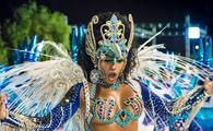 A glamorous performer in Rio de Janeiro