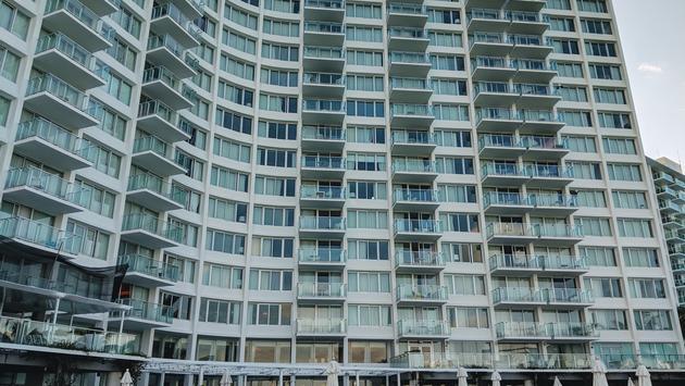 The Mondrian South Beach Hotel in Miami, FL