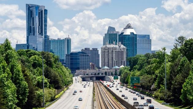 The Atlanta Skyline