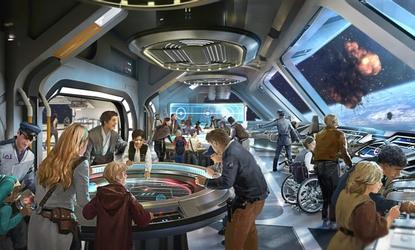 Artist rendering of the new Star Wars Hotel at Walt Disney World Resort.