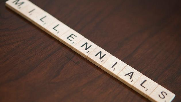 Millennials in Scrabble letters
