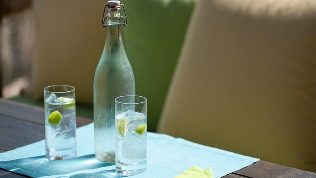 Six Senses bottled water