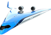 Rendering of the Flying-V passenger jet