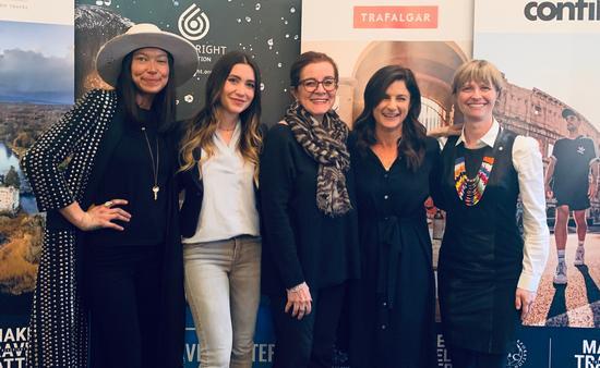 Female Travel Trailblazers: Sarain Fox, Nadine Sykora, Patricia Schultz, Ami Vitale, and Roxanne Joyal