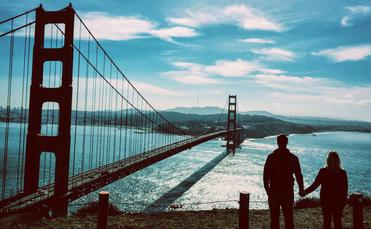 There are plenty of ways to romance your loved one in San Francisco.