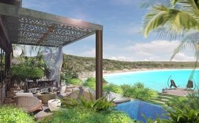 Rosewood Half Moon Bay Antigua rendering