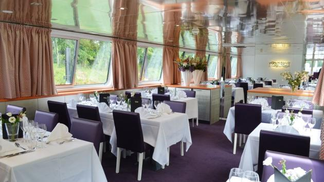 Dining onboard CroisiEurope's MS Raymonde