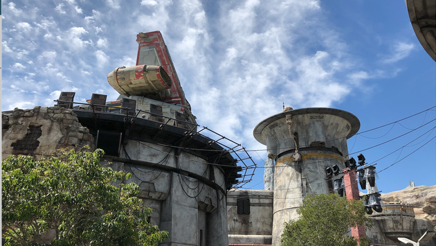 Docking Bay 7 at Star Wars: Galaxy's Edge at Disneyland