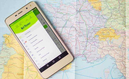 Eurail, app, travel tech