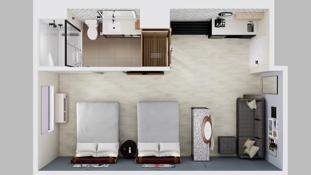 Prototype d'un hôtel Atwell Suites