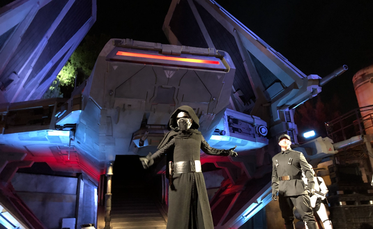 First Order at Star Wars: Galaxy's Edge at Disneyland
