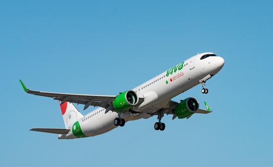 Viva Aerobus comenzará a operar nuevas rutas en septiembre de 2020.