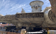The Millenium Falcon at Star Wars: Galaxy
