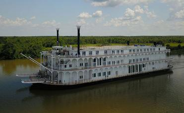 American Queen Steamboat Company's American Duchess steams ahead