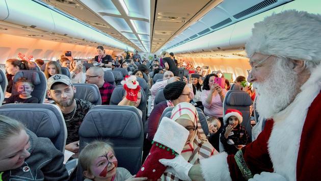 Évènement « En vol avec le père Noël » de Transat