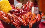 Crawfish Boil in New Orleans.