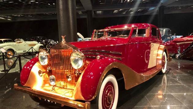 Car on display at Blackhawk Museum in Danville, California