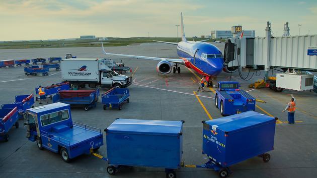 Southwest, Denver, airport