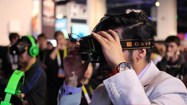 Virtual reality with Razer OSVR