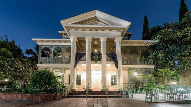 The Haunted Mansion in New Orleans Square at Disneyland Park