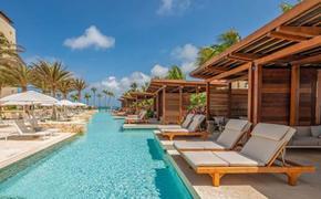 Hyatt Regency Aruba Resort Spa and Casino pool area.