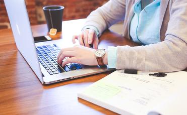Business laptop notebook