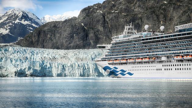 Royal Princess in Glacier Bay