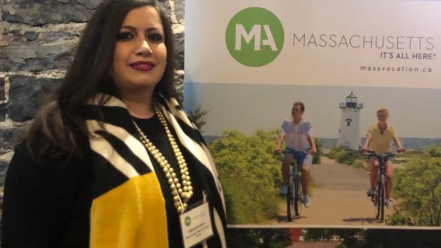 Maria Speridakos, directrice des communications de l'Office de Tourisme du Massachusetts