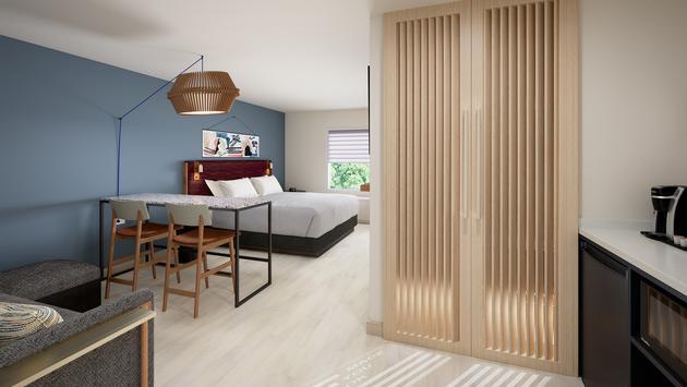 suites, IHG, rendering